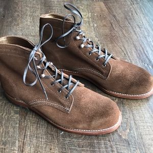 Wolverine 1000 Mile Brown Suede Boots, Size 9.5